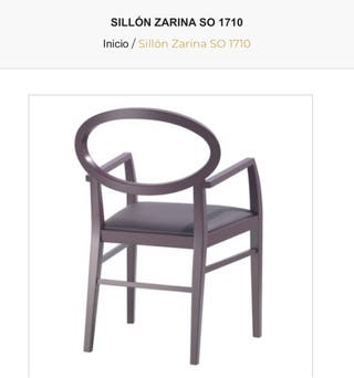 Sillas Zarina andrew world