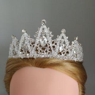 Tiara de novia corona de novia tocado de novia