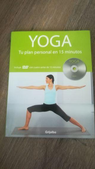 Libro y Cd de yoga