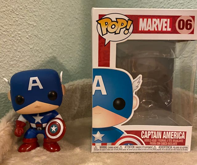 FUNKO POP - Marvel Captain / Capitan America Nº 06
