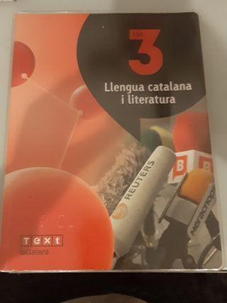 Libro Llengua Catalana i literatura 3r ESO