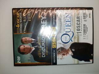 Doble DVD NUEVOThe Queen y El discurso del Rey