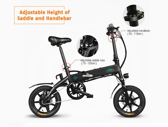 Bicicleta Electrica Plegable - Fiido D1 80km