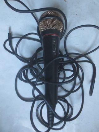 micrófono SONY con cable F-VJ3322