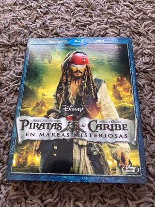 DVD+BluRay Piratas del Caribe