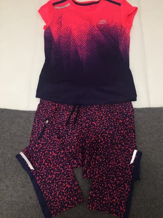 Conjunto ropa deportiva niña
