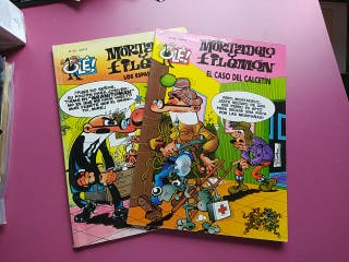 Pack Comics Mortadelo y Filemón