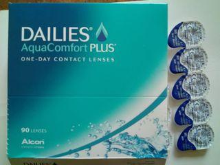 Dailies AquaComfort Plus 30 lentillas -2.00