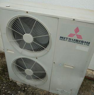 Aire acondicionado industrial con bomba de calor