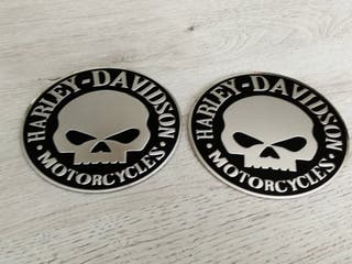 EMBLEMA LOGO HARLEY DAVIDSON MOD MOTORCYCLES BLACK