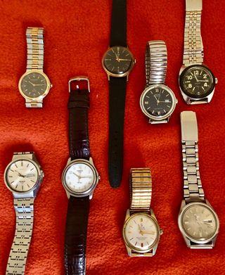 Relojes automáticos, mecánicos y quartz