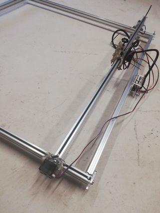 máquina grabado láser en metal 15w, 100cm x 100cm