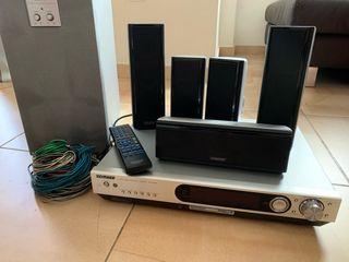 Kenwood VRS-6200 Homecinema Amplificador