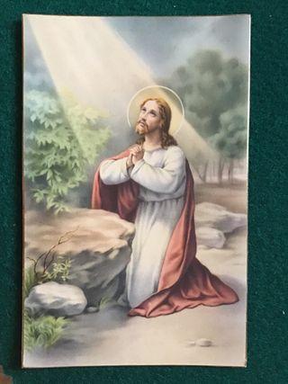 Postal religiosa LT 1056 años 50