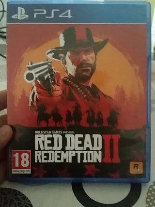 Red dead redemptiom II PS4