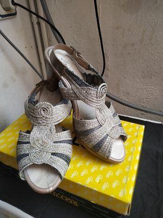 sandalia mujer