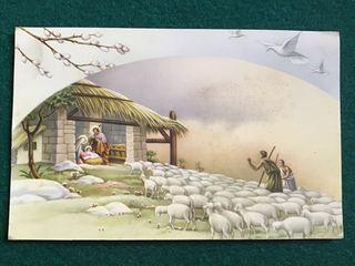 Postal religiosa LT 923 años 50
