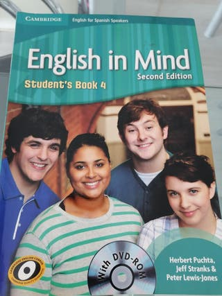 Libro inglés de secundaria