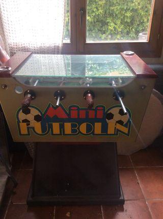 mini futbolín de bar,también para casa particular,