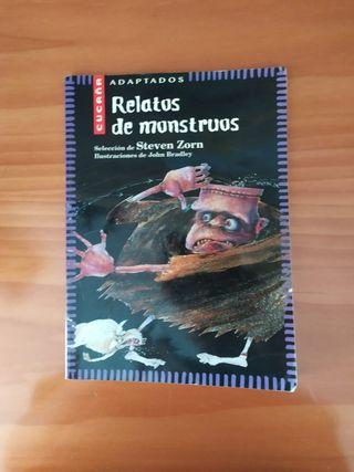Libro Relatos de Monstruos