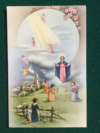 Postal religiosa LT 1198 años 50