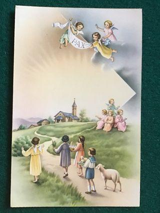 Postal religiosa LT 1196 años 50