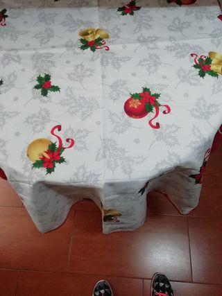 mantel antimanchas 2'40cm ovalado