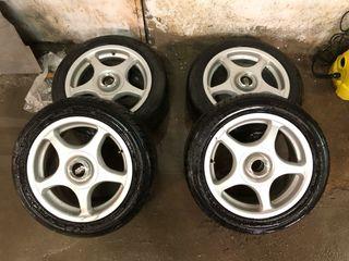 """Llantas BBS Asa 15"""" neumáticos nuevos"""