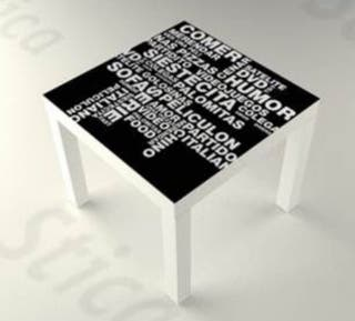 Vinilos decorativos para mesas + montaje