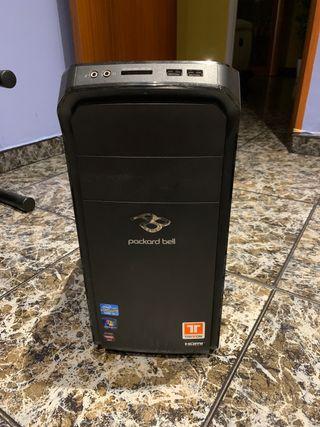 Torre Packard Bell con win 10 recien instalado