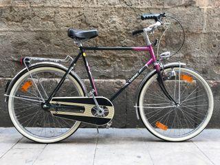 Bicicleta de ciudad vintage