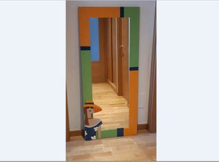 Espejo vertical de colgar en pared