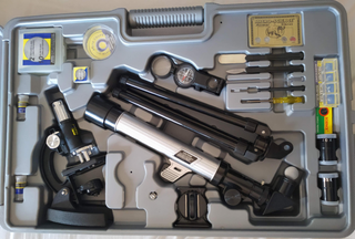 Kit Telescopio y Microscopio
