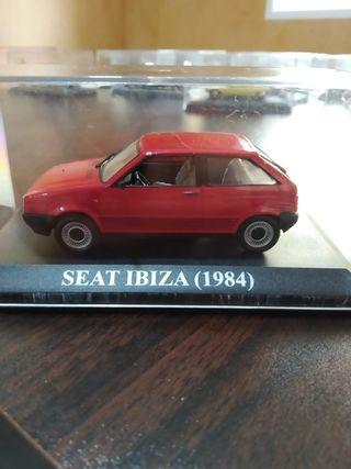 Maqueta Seat Ibiza escala 1:43 Altaya