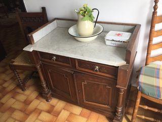 Mueble encimera de marmol