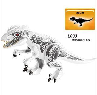 lego compatible dinosaurios indominus rez