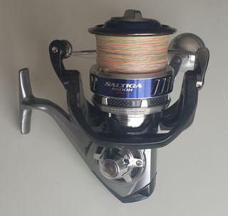 Saltiga 6500h (Doble bobina Original Daiwa)
