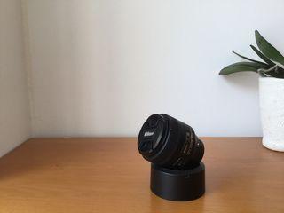 Objetivo Nikon 85mm 1.8G