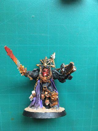 Hechicero exterminador marines Caos warhammer 40k