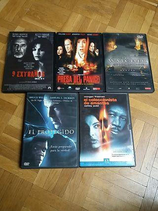 DVD películas terror/miedo/suspense II