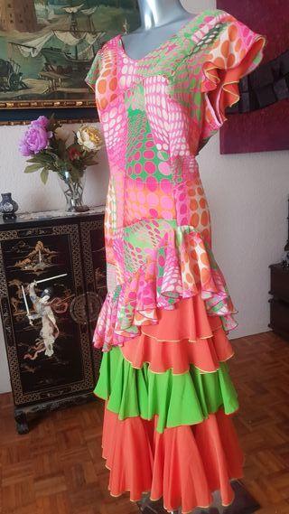 traje flamenca, gitana ,rocio