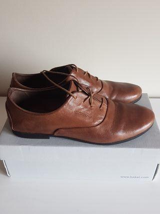 Zapatos piel mujer HAKEI N40!!!