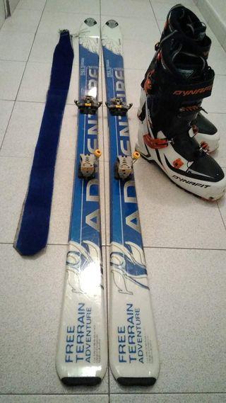 Equipo esquí travesia