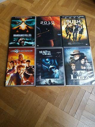 DVD Películas Ciencia Ficción II