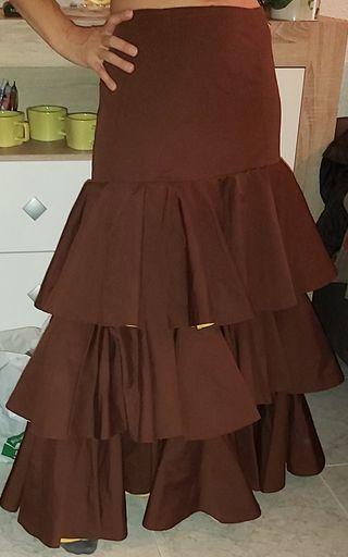 falda flamenca,rociera, gitana
