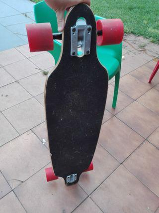 Skate longboard drop