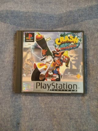 Crash Bandicoot warped 3 Ps1