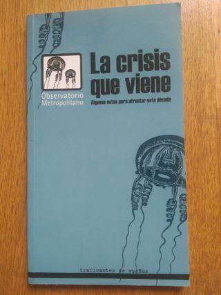 Libro: la crisis que viene