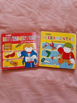 2 libros niñ@s 2-4 años