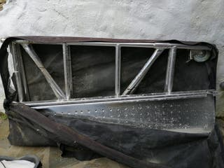 Andamio plegable aluminio